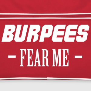 Burpees Fear Me Bags & Backpacks - Retro Bag