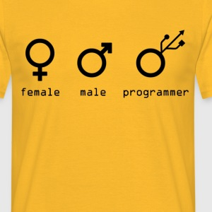 usb - Men's T-Shirt