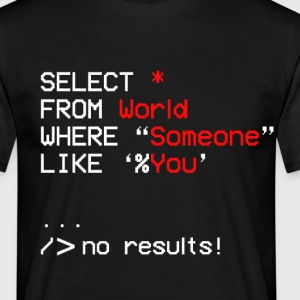 no results - Men's T-Shirt