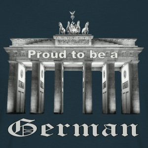 Stolzer Deutscher - Proud to be a German - Männer T-Shirt