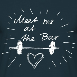 Meet me at the bar T-shirts - Mannen T-shirt