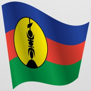 Waving Flag of New Caledonia - Tote Bag