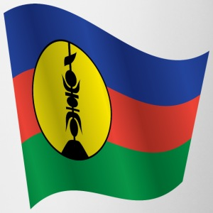 Waving Flag of New Caledonia - Mug