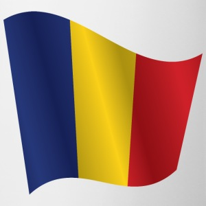 Waving Flag of Romania - Mug