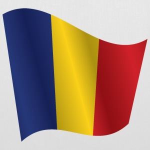 Waving Flag of Romania - Tote Bag