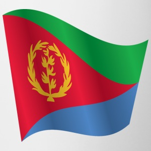 Waving Flag of Eritrea - Mug