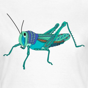 Blue grasshopper t-shirt for women - Women's T-Shirt