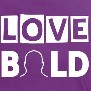 LOVE BOLD - Frauen Kontrast-T-Shirt