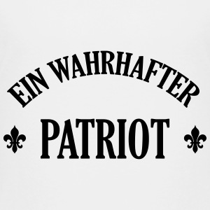 Patriot Patriotin Deutschland Deutscher Deutsch T-Shirts - Teenager Premium T-Shirt