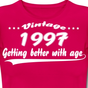 Vintage 1997 Getting Better With Age T-Shirts - Women's T-Shirt