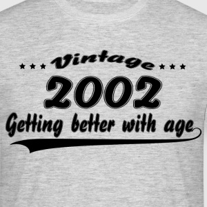 Vintage 2001 Getting Better With Age T-Shirts - Men's T-Shirt