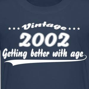 Vintage 2002 Getting Better With Age Shirts - Teenage Premium T-Shirt