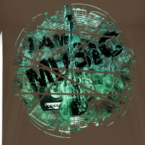 I am Music Shattered GR T-Shirts - Männer Premium T-Shirt