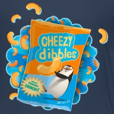 Penguins of Madagascar Cheezy dibbles Teenager T-S