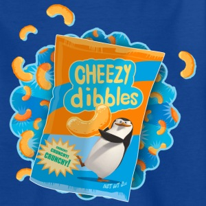 Penguins of Madagascar Cheezy dibbles Teenager T-S - Teenage T-shirt