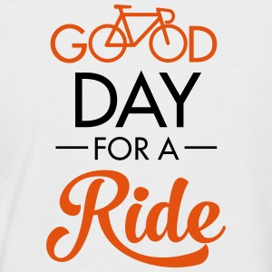 Good Day For A Ride Magliette - Maglia da baseball a manica corta da uomo