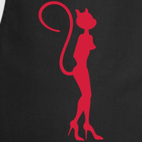 Lady cat / Katzenfrau (1c)  Aprons - Cooking Apron