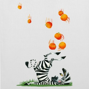 Madagascar Marty with oranges Tote Bag - Tote Bag