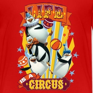 Madagascar penguins Life is a circus Kid's T-Shirt - Kids' Premium T-Shirt