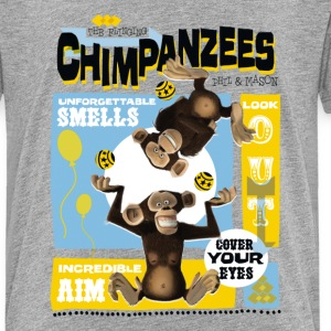 Madagascar Chimpanzees Kid's T-Shirt - Kids' Premium T-Shirt