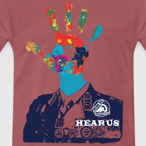 Hear Us Talk to the Hand - Men's Premium T-Shirt