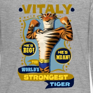 Madagascar Vitaly The strongest Tiger Teenager Lan - Teenager Premium Langarmshirt