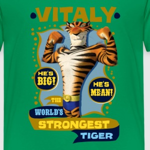 Madagascar Vitaly The strongest Tiger Kid's T-Shir - Kids' Premium T-Shirt