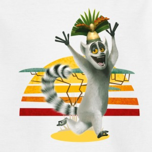 Madagascar King Julien Teenager T-Shirt - Teenage T-shirt