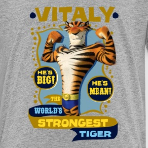 Madagascar Vitaly The strongest Tiger Teenager T-S - Teenage Premium T-Shirt