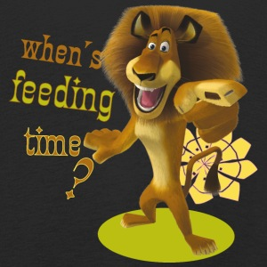 Madagascar Alex When's feeding time? Kid's Long sl - Kids' Premium Longsleeve Shirt