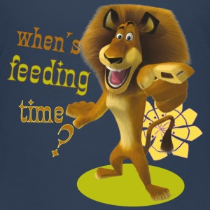 Madagascar Alex When's feeding time? Kid's T-Shirt - Kids' Premium T-Shirt