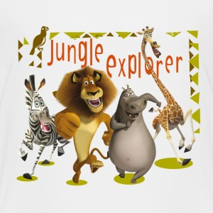 Madagascar Jungle Explorer Kid's T-Shirt - Kids' Premium T-Shirt