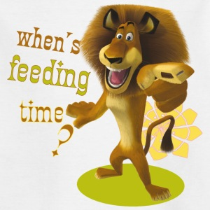 Madagascar Alex When's feeding time? Kid's T-Shirt - Kids' T-Shirt
