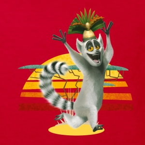 Madagascar King Julien Kid's T-Shirt - Kids' Organic T-shirt