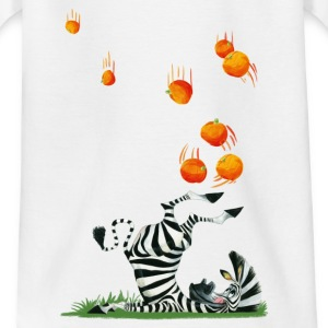 Madagascar penguins Marty with oranges Teenager T- - Teenage T-shirt