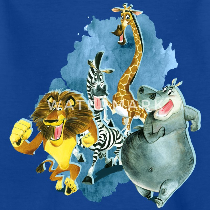 Madagascar Madagascar Group Kid's T-Shirt - Kids' T-Shirt