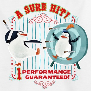 Madagascar penguins A sure Hit Teenager T-Shirt - Teenage T-shirt