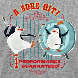 Madagascar penguins A sure Hit Men T-Shirt - Men's Premium T-Shirt