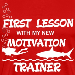 First Lesson - Motivation Trainer Tee shirts - T-shirt Premium Homme