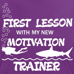 First Lesson - Motivation Trainer Tee shirts - T-shirt contraste Femme