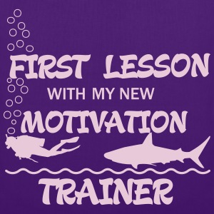 First Lesson - Motivation Trainer Bolsas y mochilas - Bolsa de tela