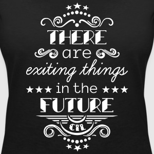Exiting Things T-Shirts - Frauen T-Shirt mit V-Ausschnitt