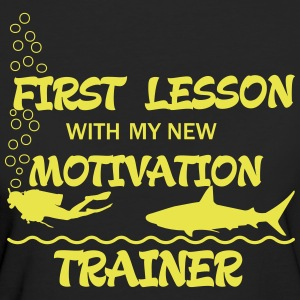 First Lesson - Motivation Trainer T-Shirts - Frauen Bio-T-Shirt