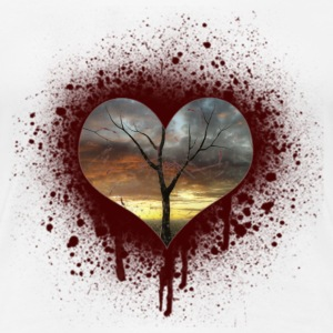 bleeding heart T-Shirts - Women's Premium T-Shirt