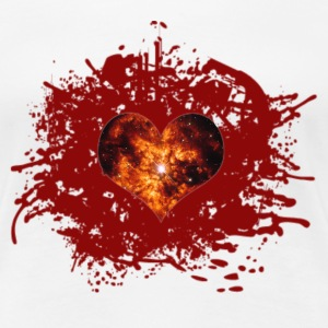 supernova heart T-Shirts - Frauen Premium T-Shirt