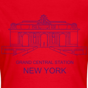 Grand Central Station New York T-Shirts - Frauen T-Shirt