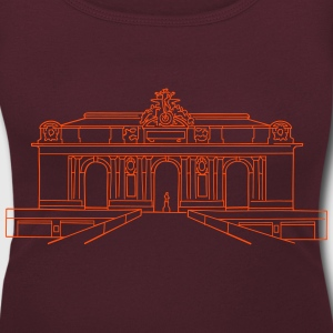 Grand Central Station NewYork T-Shirts - Women's Scoop Neck T-Shirt
