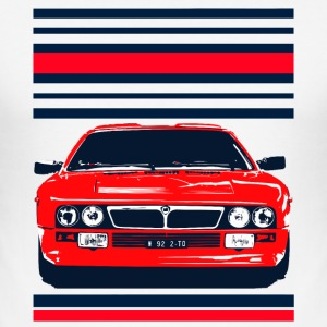 rally car T-Shirts - Men's Slim Fit T-Shirt