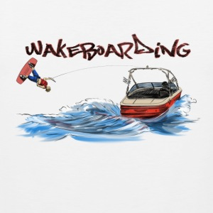 wakeboarding Sports wear - Men's Premium Tank Top
