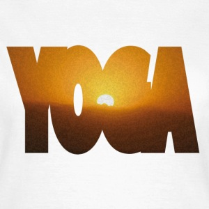 YOGA SUN - Frauen T-Shirt